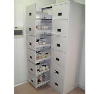 全钢-抽拉式药品柜ZP15326